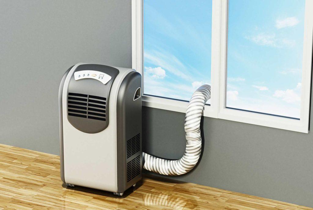 mobiles Klimagerät - Monoblock-Klimaanlage mit Schlauch