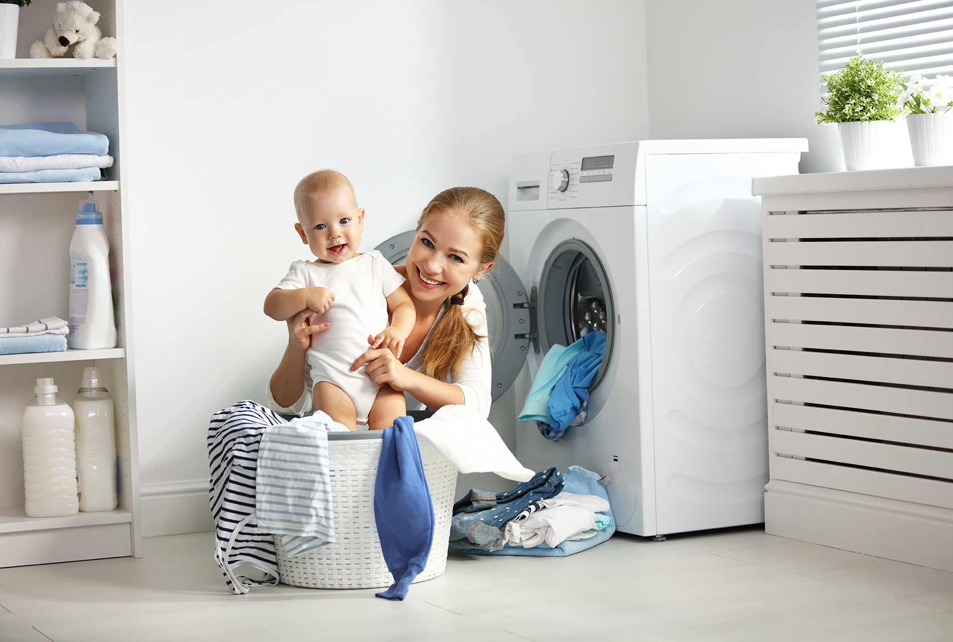 Frontlader Waschmaschine für Familie