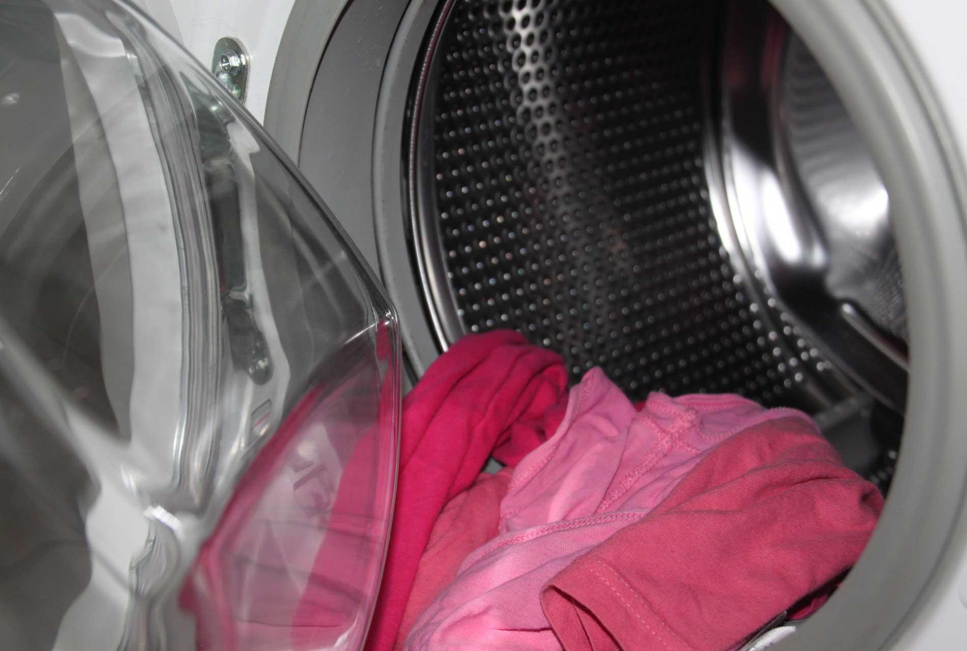 Befüllung Waschmaschine